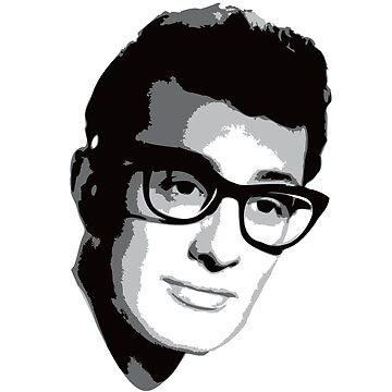 Buddy Holly by RadRobot