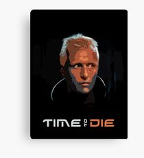 Blade Runner - Design 1 - Time to Die Canvas Print