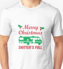 Merry Christmas Shitter's Full T-Shirt