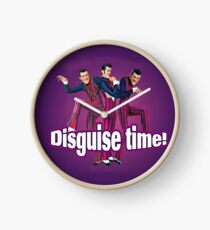 Rotten Robbie Disguise Time! Lazy Town Clock