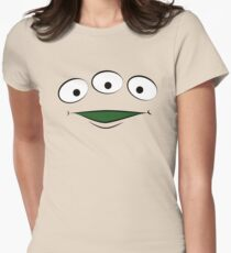 Toy Story Alien - Smile Womens Fitted T-Shirt