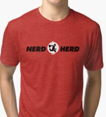 "Nerd Herd from ""Chuck"" Tri-blend T-Shirt"