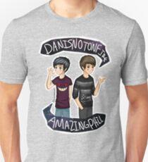 Danisnotonfire & Amazingphil  Unisex T-Shirt