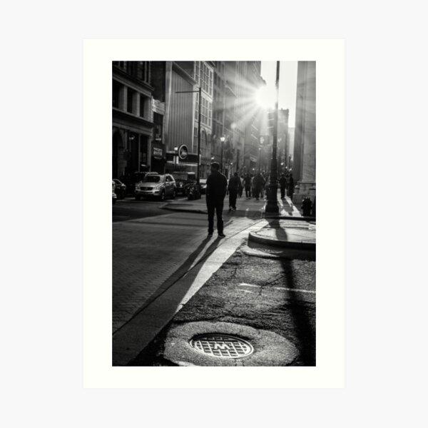 Philadelphia Street Photography - 0943 Art Print