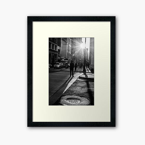 Philadelphia Street Photography - 0943 Framed Art Print