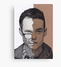 Mr. Robot Canvas Print