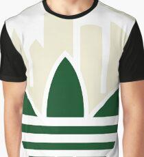Milwaukee Bucks Basketball Graphic T-Shirt