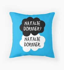 Natalie Dormer (The Fault in Our Stars) Throw Pillow