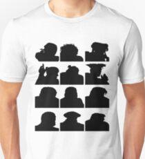 Classic Videogame Street Fighter Schwarz Unisex T-Shirt