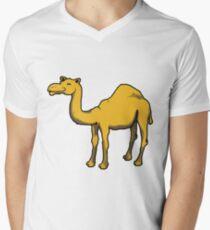 Cute camel Men's V-Neck T-Shirt