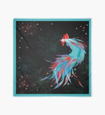 Blue  Rooster Scarf
