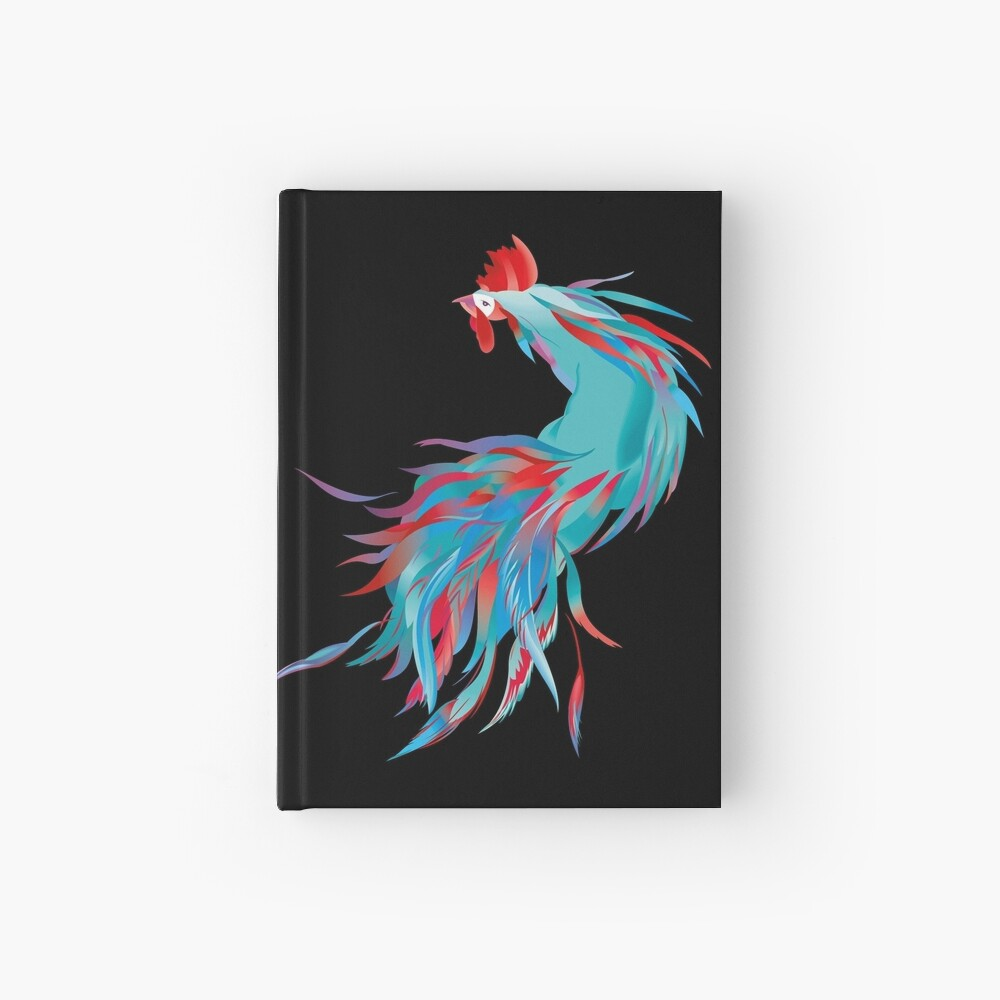 Blue  Rooster Hardcover Journal