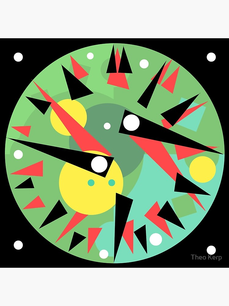 Clock face 2017 by viewdesign