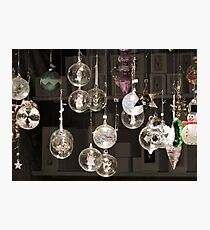 Glass Baubles  Photographic Print
