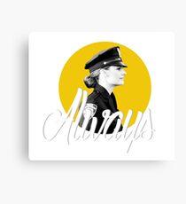 Kate Beckett - Always Canvas Print