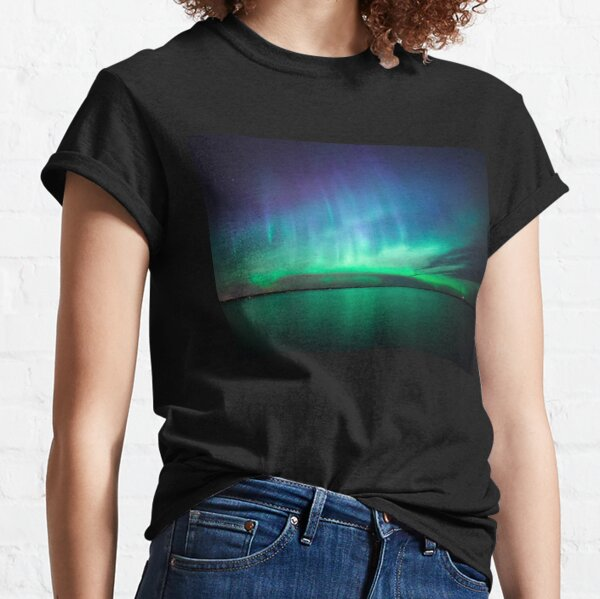 Beautiful northern lights Classic T-Shirt