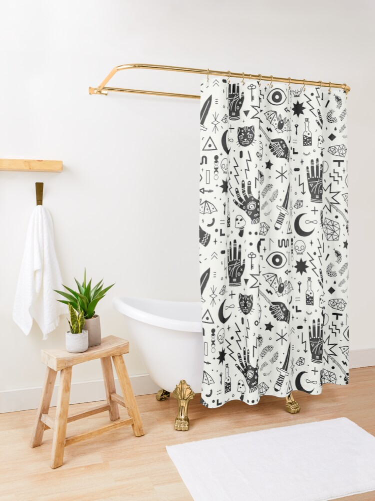 Alternate view of Witchcraft II Shower Curtain