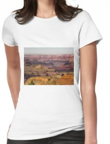texture of rock and stone at Grand Canyon national park, USA Womens Fitted T-Shirt