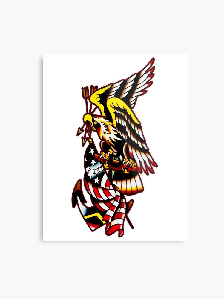 e42b42fdbdbef American Eagle Tattoo design