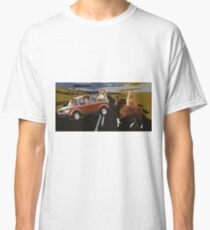 Twitter roads converge  Classic T-Shirt