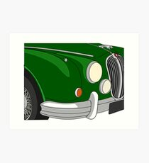 Mk II Jaguar Art Print
