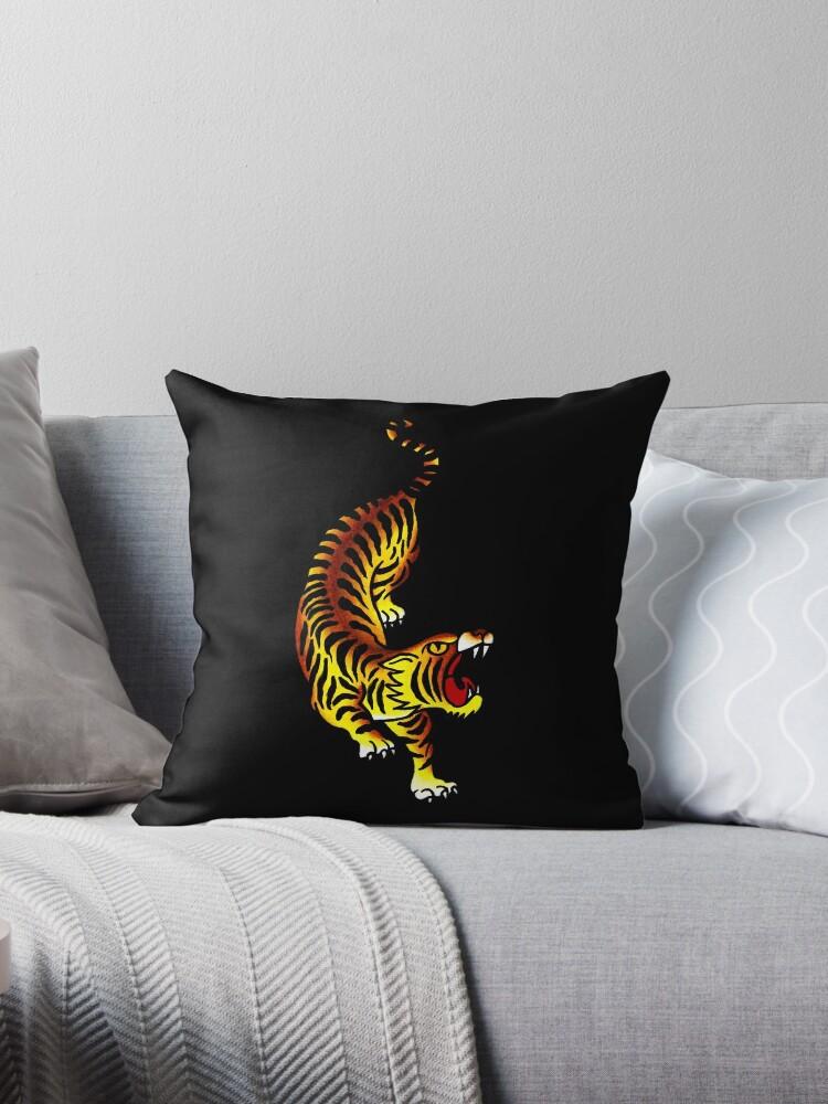 4cdca53cd22d3 Traditional Tiger Tattoo design