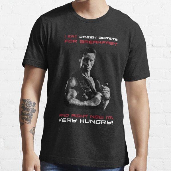 Commando - Design 2 - Green Berets Essential T-Shirt