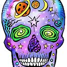 Space Skull by SurlyAmy