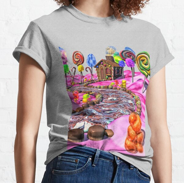 Pink Candyland Classic T-Shirt