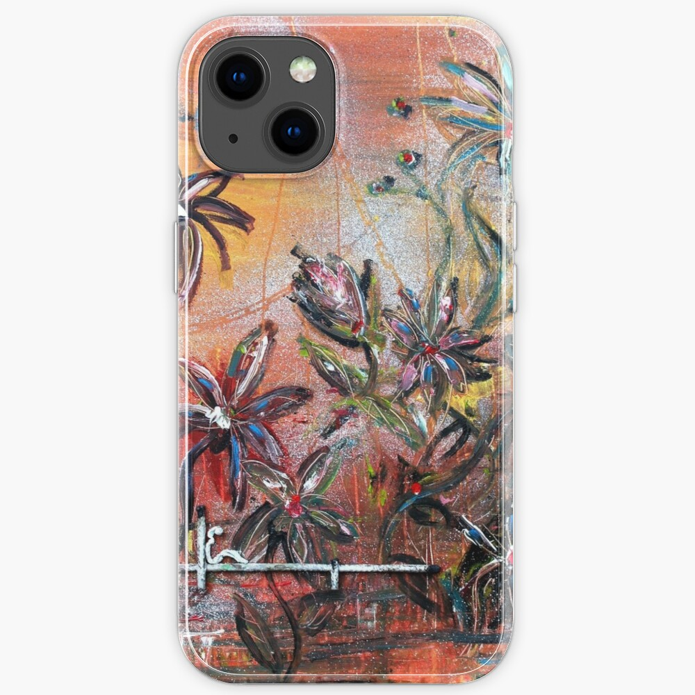 blooming emotions iPhone Case