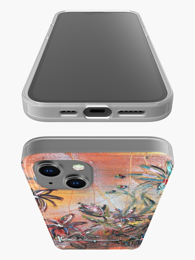 Alternate view of blooming emotions iPhone Case