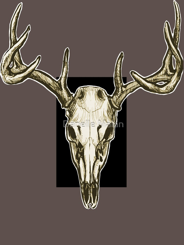 Stag Skull by Dwuff
