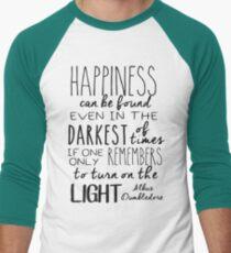 Turn on the Light Men's Baseball ¾ T-Shirt