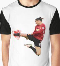 Zlatan Ibrahimovic flying ninja kick Graphic T-Shirt