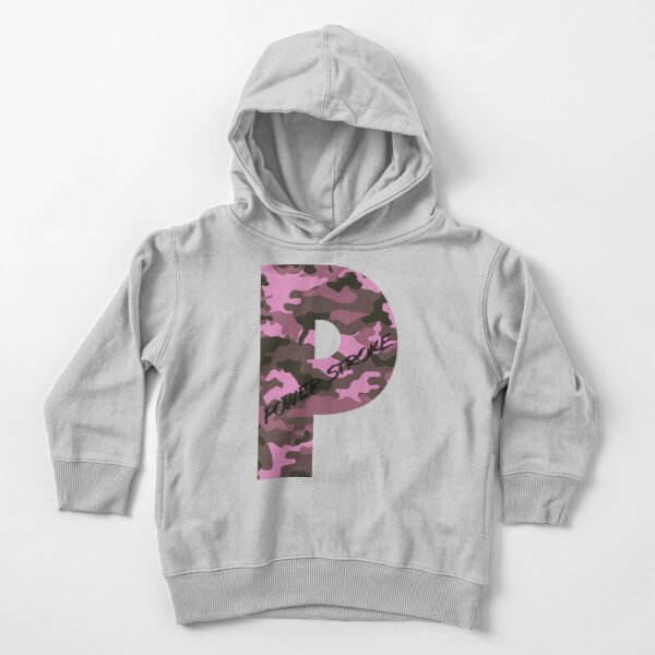 Powerstroke Pink Camo Toddler Pullover Hoodie
