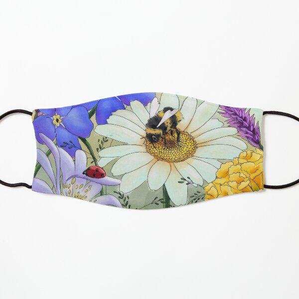Floral Nature Digital Art  Kids Mask