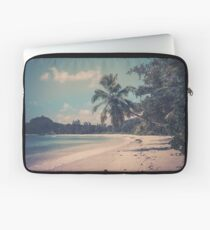 Tropical beach Laptop Sleeve