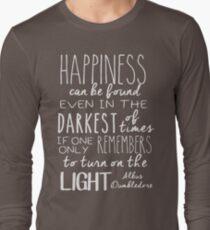 Turn on the Light - White Version T-Shirt