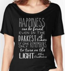 Turn on the Light - White Version Women's Relaxed Fit T-Shirt