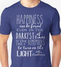 Turn on the Light - White Version Unisex T-Shirt