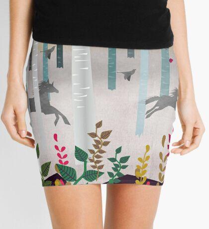 Flying Horses Mini Skirt
