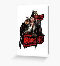 Captain Kronos: Vampire Hunter Greeting Card