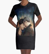 Sorrow and Comfort Graphic T-Shirt Dress