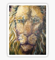The Lion of Judah Sticker