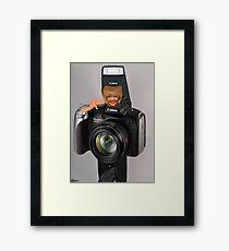 ✾◕‿◕✾ MY CAMERA AND I~ IT KINDA WEARS ON U ✾◕‿◕✾ Framed Print