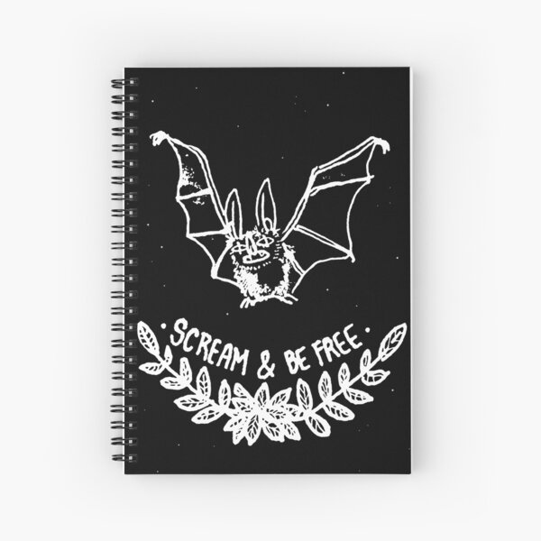 Scream & Be Free Spiral Notebook