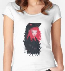 Make-believe Women's Fitted Scoop T-Shirt
