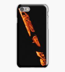 Orange Smoke iPhone Case/Skin