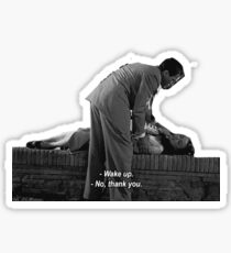 Roman Holiday - Gregory Peck - Audrey Hepburn  Sticker