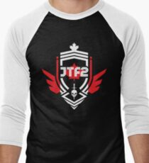 JTF2 - Canadian Skin Men's Baseball ¾ T-Shirt